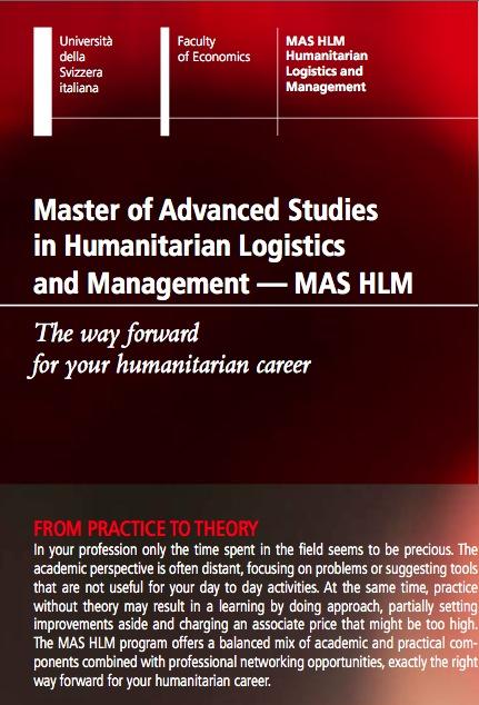 Masters Course in Lugano