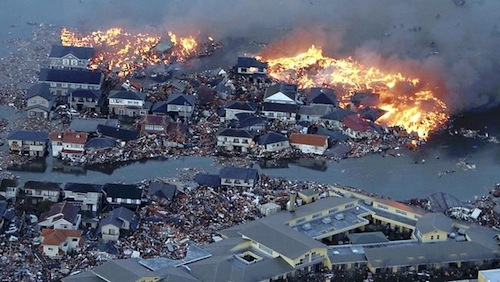 Information response to earthquake in Japan and tsunami ...